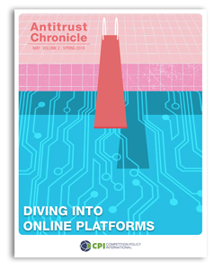 Antitrust Chronicle May 2018. Diving Into Online Platforms.