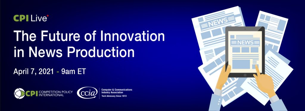 The Future fo Innovation in News Production cover