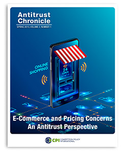 Antitrust Chronicle - E-Commerce and Pricing Concerns – An Antitrust Perspective May 2015 I